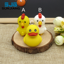 cartoon Duck / Chicken USB Flash Drive Cute Pen drive usb stick 64G 8GB 16GB 32GB 4GB U disk high quality pendrive lovely gift(China)