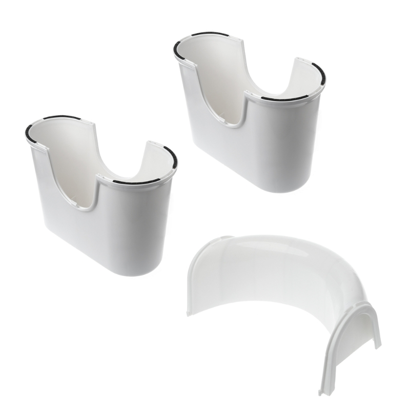 New Bathroom Toilet Aid Squatty Step Foot Stool For Potty Help Prevent Constipation  <br>