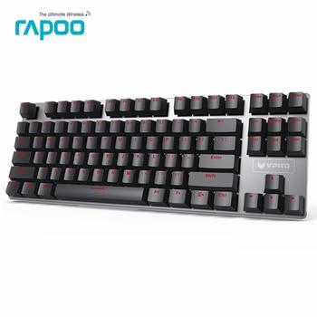 Neue ankunft rapoo v500 legierung version mechanische gaming tastatur teclado mit usb powered für spielkonsole desktop laptop