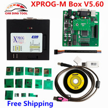 2016 Newest Xprog-m V5.60 Xprog Box ECU Chip Programmer X-Prog M 5.60 Update Version Of XPROG-M V5.55 X Prog 5.55 Free Shipping
