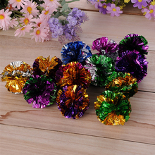4cm Plastic Ring Paper In Various Colors Ball Super Cheap Favorite Cat And Dog Toy 28 MYLAR