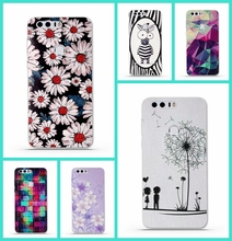 Phone Cases for Huawei Honor 8 Case Cover 3D Relief TPU Protective Soft Silicone Back Cover Funda for Huawei Honor 8 Phone Bag