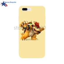 Soft TPU For IPhone 8 Plus/6 Case Bowser Artwork For Iphone Case 6 Plus/X Anti-Knock Covers For Iphone 6/6s Plus/8/7Plus(China)