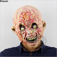 Horror Halloween Cosplay Costume Bloody Zombie Mask Melting Full Face Mask Walking Dead Scary Carnival Mardi Gras Party Masks