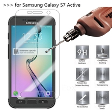 For Samsung Galaxy S7 Active Tempered Glass 9H High Quality Protective Film Explosion-proof LCD Screen Protector(China)