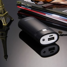 DIY 2x 18650 Battery 5600mAh Power Bank Shell Box with USB Output & Indicator Light for iPhone / Samsung, Battery Not Included