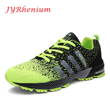 JYRhenium New Running Shoes for Men 2017 Outdoor Mesh Light Shoes Jogging Sneakers Athletics Women Lovers Sport Shoes chaussures(China)