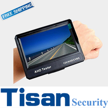 "4.3"" TFT LCD AHD Analog in one  wrist  cctv test monitor"