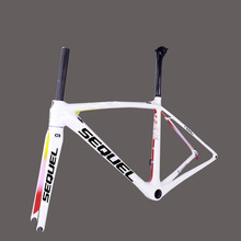 Buy Colorfull carbon road frame 2017 seuqel factory sell carbon road bike frame T1000-60T super light model bicycle frame for $605.00 in AliExpress store