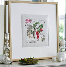DEFA19 red fruit harvested by hand cross stitch kits 11CT embroidered cloth restaurant cuisine decorative patterns