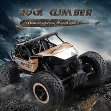 JJRC Q15 1:14 Four-wheel Drive Off-road Vehicle 2.4G Remote Control Toy Driving Dirt Bike High-Speed Truck Electric Car