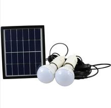 Vioslite New Portable Solar Home Lighting System Led Bulb with Pv Panels with high capacity 4000mh Solar System
