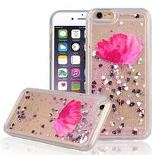 For IPhone 5s 4 Ipod Case Transparent Soft TPU Cover Dynamic Liquid Glitter Sand 3D Stars Cover For Iphone 7 6 6s Plus Capa Para