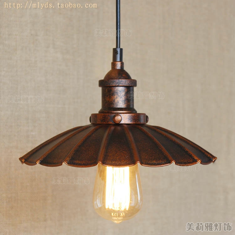 Umbrella American Retro Loft Style Vintage Lamp Industrial Pendant Lighting Fixtures Balcony Bar Edison Hanglamp Lamparas<br>