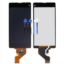 LCD Display Digitizer For Xperia Z1 mini Compact D5503 M51W LCD Touch Screen Assembly For Xperia LCDs + Tool Free Shipping