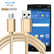 Micro USB Sync & Charger Cable for ZTE Blade S7 V2 A1 A475 A465 A570 X9 X5 X3 /Small Fresh 3/ Axon Max Data Sync Charging Cable
