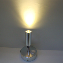 wall lamp led with switch led light rechargeable led lamp reading/bedroom/desk /counter lighting
