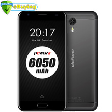 "Ulefone Power 2 Android 7.0 Samrtphone MT6750T Octa Core 5.5"" FHD 4GB RAM 64GB ROM Quick Charge 6050mAh Battery 4G Mobile Phone"