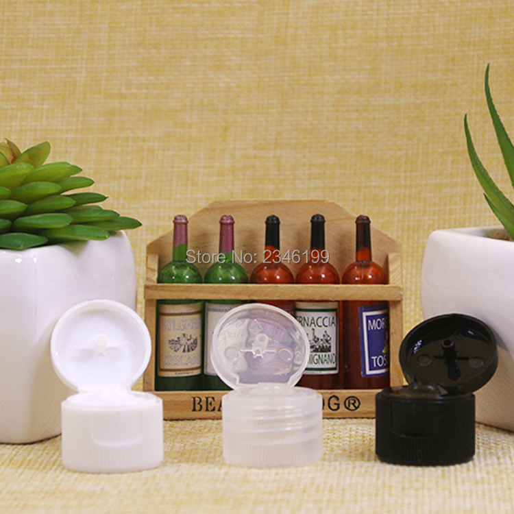Plastic Bottle 30ml Flip Cover Bottle Empty Cosmetic Packaging Empty Plastic Transparent Cap Packing Cosmetic Container (4)