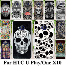 Phone Case For HTC U Play Alpine One X10 E66 Housing Cover Plastic Shock-Proof Case Coque For HTC One X10 E66 Bag Shell Cover