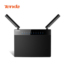 Tenda AC9 Lite AC1200 Wifi Repeater 5 Gigabit Ports Router Dual-Band 2.4GHz / 5GHz Wireless Wifi Router with English Firmware(China)