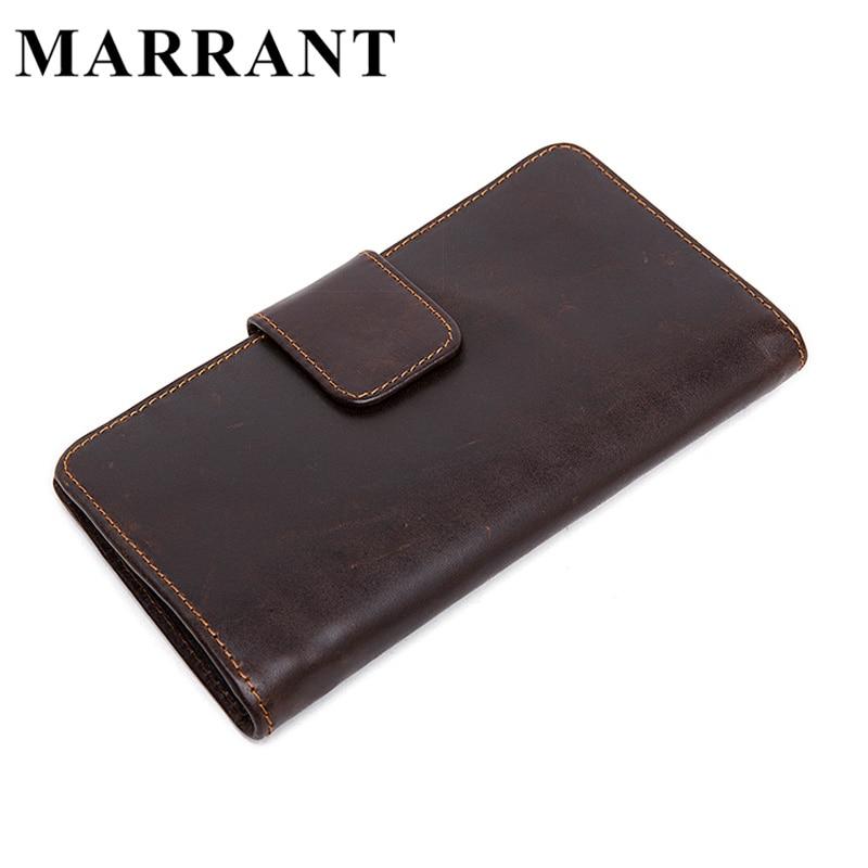 MARRANT Genuine Leather Men Wallets Fashion Clutch Bags Man Billfold Card Holders Business Bag Male Multifunctional Purse 3314<br><br>Aliexpress