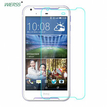 For HTC Desire 628 dual SIM Tempered Glass Screen Protector Film For HTC Desire 650 530 630 825 830 dual SIM one M7 M8 M9 plus(China)