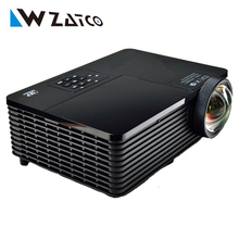 Best 300inch 6000ANSI ultra short throw HDMI USB RJ45 DLP 3D Projector Daylight Outdoor 1080P for Business Advertise Education