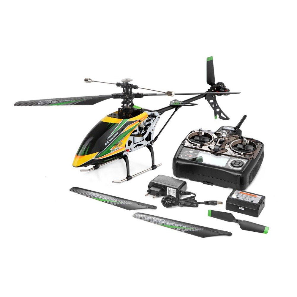 WLtoys V912 Drone Sky Dancer Aircraft 2.4GHz RTF Aeroplane 4 Channel Single Blade RC Helicopter With Head Lamp Light(China)
