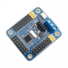 Mini USB 24 servo motor controller board for arduino robot project