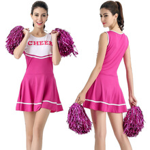 2017 New Sexy High School Cheerleader Costume Cheer Girls Cheerleading Uniform Party Outfit