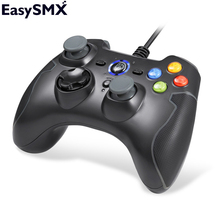 EasySMX ESM-9100 Wired Game Controller Gamepad Joystick with TURBO TRIGGER Button for PC PS3 TV Box Smartphone(China)