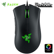 Original Razer Deathadder Chroma mouse USB Wired Optical Gaming Mice 10000dpi Optical Sensor Mouse(China)
