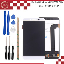 ocolor For Prestigio Grace Z5 PSP 5530 Duo LCD Display +Touch Screen creen Digitizer Assembly Repair Part 5.3''+Tool+Adhesive(China)