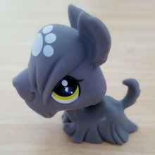 Original LPS quality cute toys Lovely Pet shop animal rare grey dog puppy action figure littlest doll