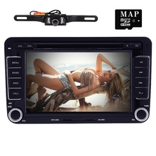 Capacitive Screen! Two Din 7 Inch Car DVD Player For Seat/Altea/Leon/Toledo/VW/Skoda DVBT 3G Host Radio FM GPS Bt 1080P Ipod Map