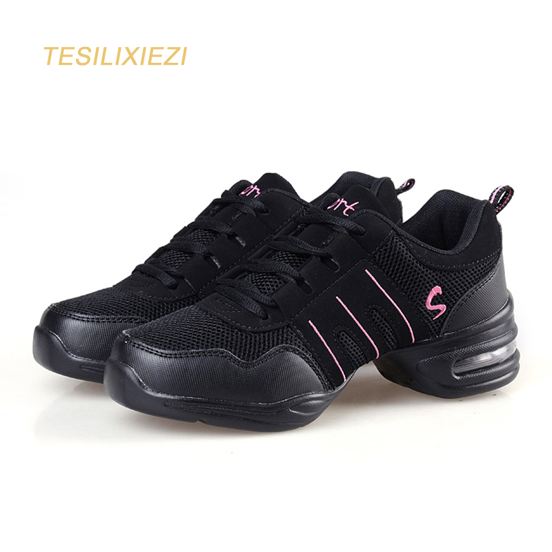 New Dance shoes women Jazz Hip Hop Shoes salsa sneakers for woman platform dancing ladies shoes