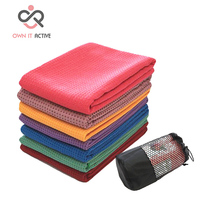 Yoga Blanket sweat microfiber thick blanket aseptic fitness machine washable slip resistance Yoga towel drop shipping M062(China)