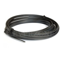 PMMA 10m Plastic Optical Fiber Cable End Emitting Light Black PVC No UV and Infrared(China)