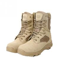 Men Boots Military Tactical Combat Male Sport Army Desert Botas Hiking Autumn Shoes Travel Leather High Boots