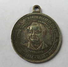 RARE South Africa Kruger Aluminum 30mm MEDAL 1834-1934(China)