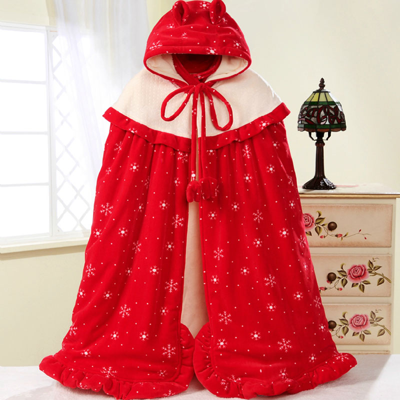 100% cotton newborn baby cloak child baby cloak thickening was autumn and winter gift 100 cm high baby use<br><br>Aliexpress