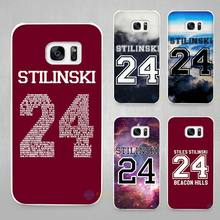 Teen Wolf Stilinski 24 Hard White Coque Shell Case Cover Phone Cases for Samsung Galaxy S4 S5 S6 S7 Edge Plus(China)