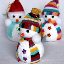 Hot Sale! Exclusive Christmas Decoration X'masTree Decorations Snowman Doll Children's Gift Tiny Toy