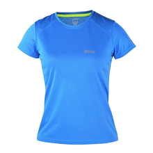 Skin Friendly Running T Shirt Short Sleeve Running Tights Base Layer Exercise Soccer Football T-Shirt Jersey Shirt 3 Colors(China)