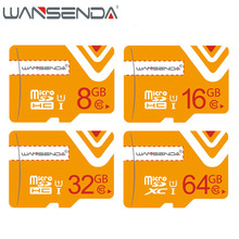 New Arrival Original wansenda TF Micro sd Card Transflash Memory Card 4g 8g 16g 32g 64g for android system Free Adapter