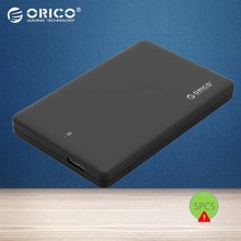 ORICO HDD Case 2.5 inch USB 3.0 to SATA3.0 External Hard Drive Enclosure for 7mm/ 9.5mm 2.5 inch HDD SSD up to 2TB UASP Support(China)