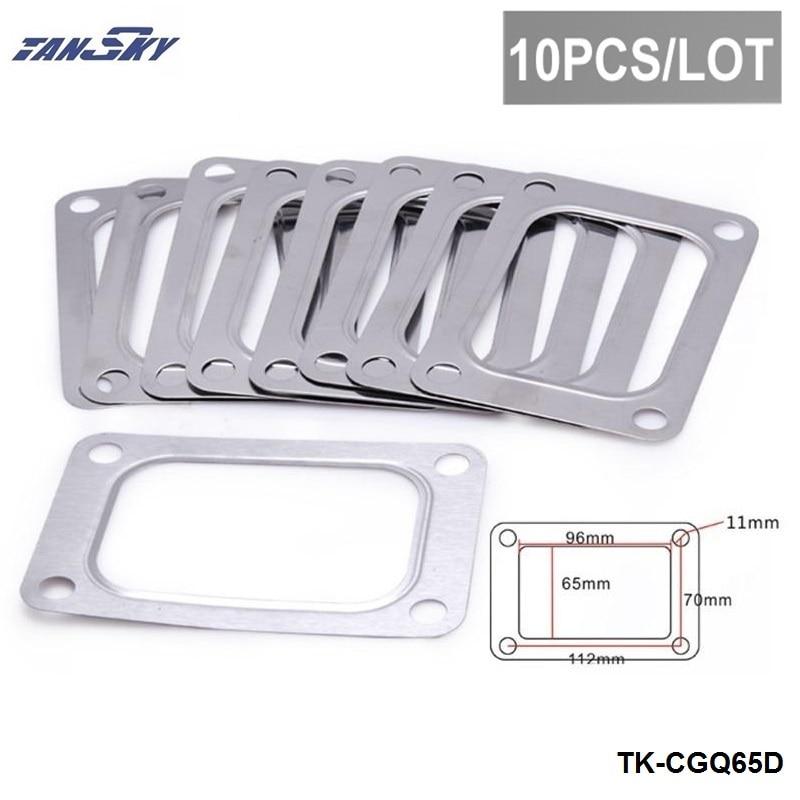 TANSKY -Racing Turbo T6 4 Bolt Gaskets Turbocharger Inlet Gasket TK-CGQ65D