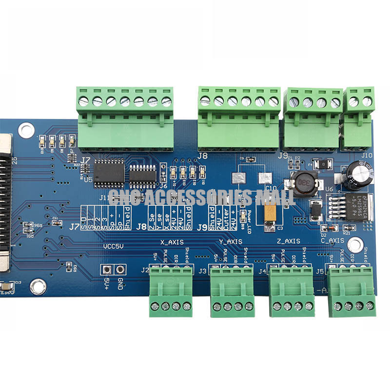 Engraving machine DSP handle wiring card 0501 handle wiring board, Only connect board cnc parts<br>