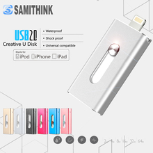 Hot! OTG USB Flash Drive For Apple iPhone iPad iPod Mobile USB Flash Disk Business USB Stick Flash Pen Drive 64GB 32GB 16GB 8GB